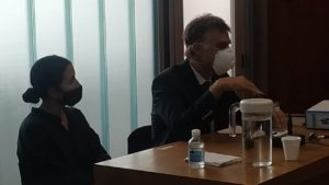 Fiscales Ileana Viviani y Leandro Dato.